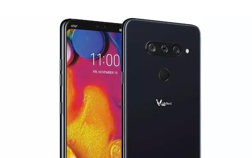 Imagem vazada do LG V40 ThinQ confirma cinco câmeras e entalhe