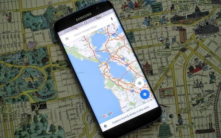 Google Maps facilita encontrar locais para visitar com amigos.