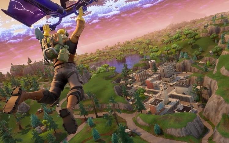 Fortnite PS4 terá cross-play com Xbox One e Switch.