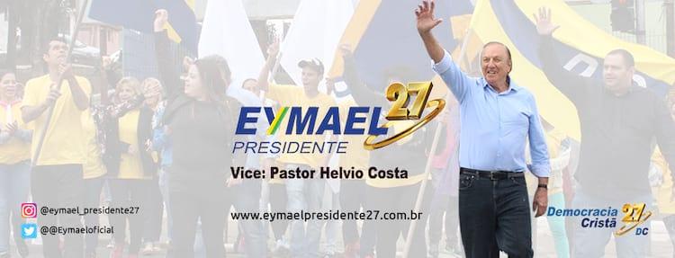 Eymael concorre pelo partido Democracia Cristã