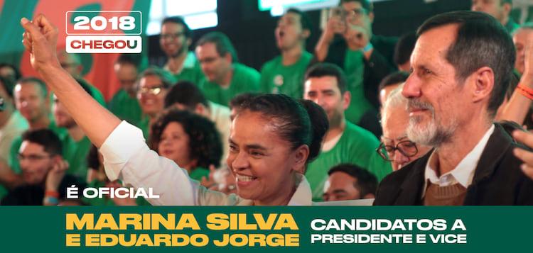 Marina Silva e Eduardo Jorge