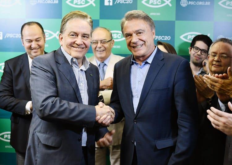 Paulo Rabello e Alvaro Dias candidatos pelo Podemos