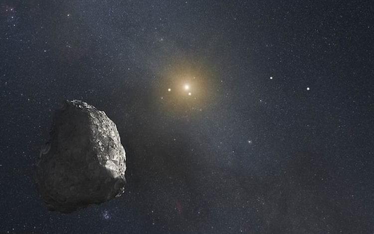Nasa diz que asteroide está se aproximando rapidamente da Terra.