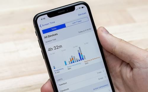 Como combater o vicio no iPhone com o Tempo de uso do iOS 12?