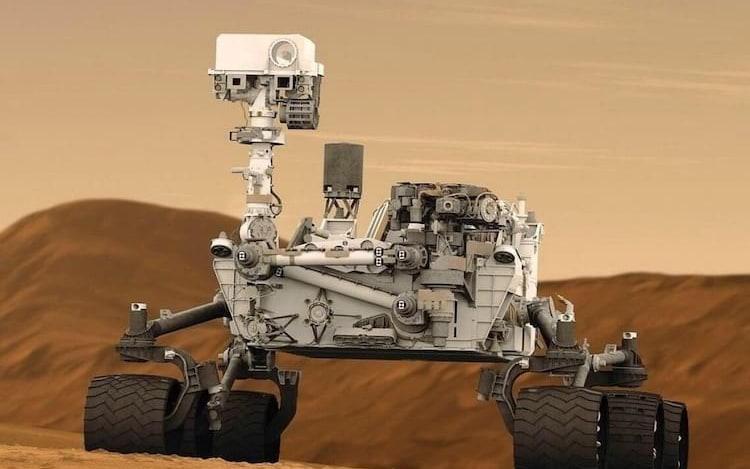 NASA ativa segundo cérebro do Curiosity após comportamento inesperado