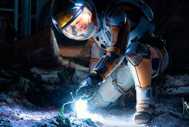 Cena do filme Perdido em Marte