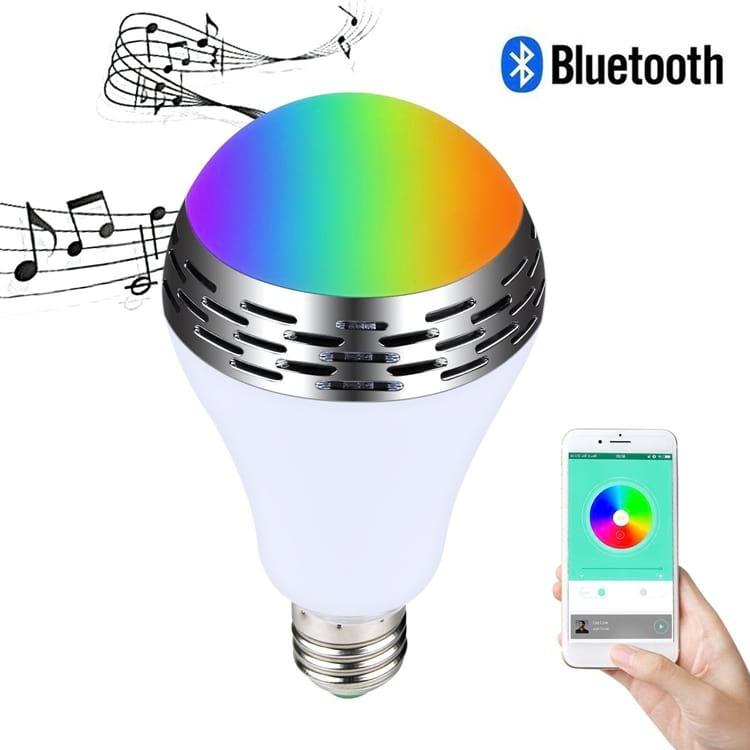 Algumas lâmpadas inteligêntes tocam música