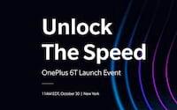 OnePlus 6T será anunciado no dia 30 de outubro