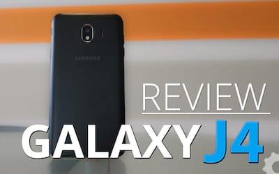 Review Galaxy J4 - um smartphone padrão 2017 em 2018