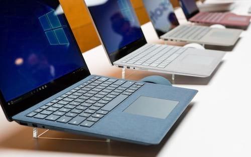 Microsoft se torna uma das cinco maiores fabricantes de PCs dos EUA