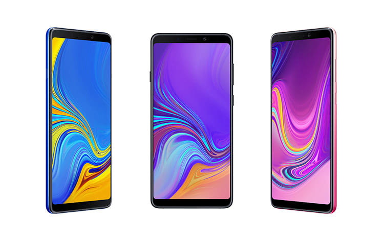 4f208037a Samsung anuncia Galaxy A9 com quatro câmeras traseiras