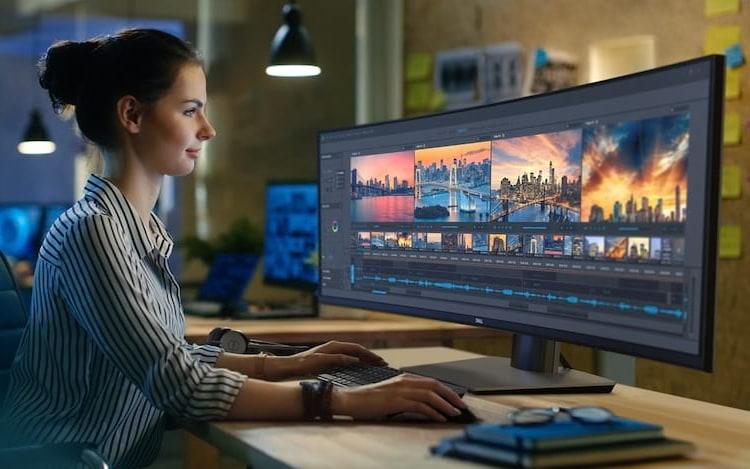 Dell anuncia monitor ultra-wide com resolução QHD.