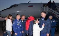 Astronauta relata como é cair para Terra após falha em foguete