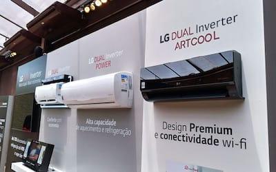 LG lança nova tecnologia de ar condicionado