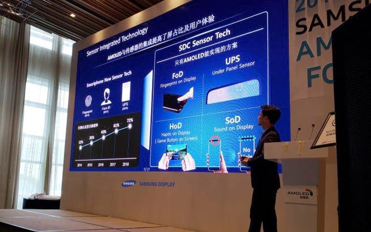 Samsung demonstra as tecnologias que deve apresentar nos seus próximos aparelhos.
