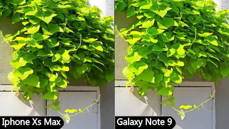 Câmera iPhone Xs Max X câmera Galaxy Note 9