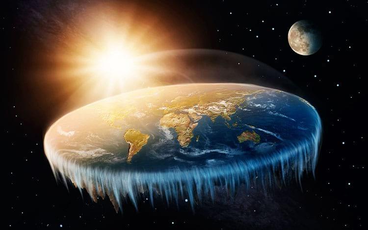 Como seria o mundo se a Terra fosse plana
