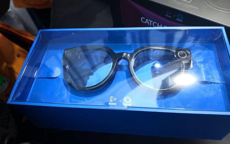 Tencent revela óculos inteligentes com gravação de vídeos.