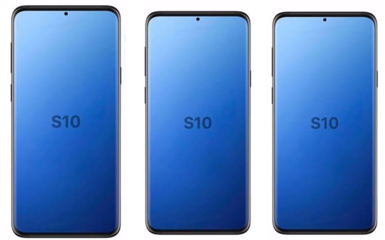 Provavelmente serão apresentadas três versões do Galaxy S10