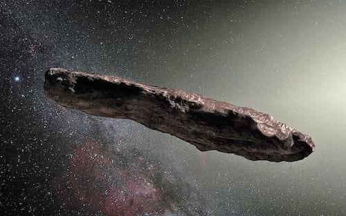 Objeto misterioso no espaço pode ter sido enviado por outra civilização