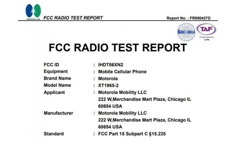 Certificação FCC