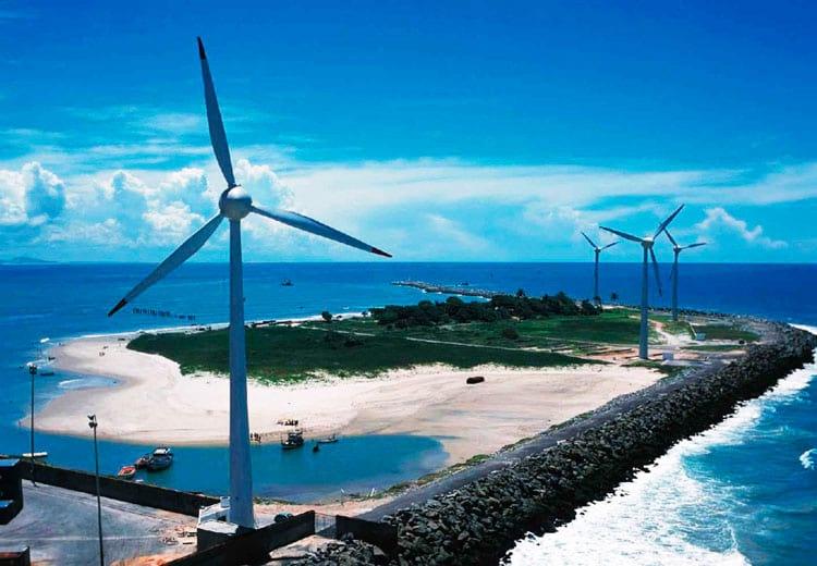 Brasil é um dos países que mais crescem em produção de energia eólica