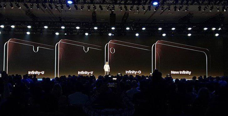 Samsung irá colocar entalhe em seus próximos smartphones.