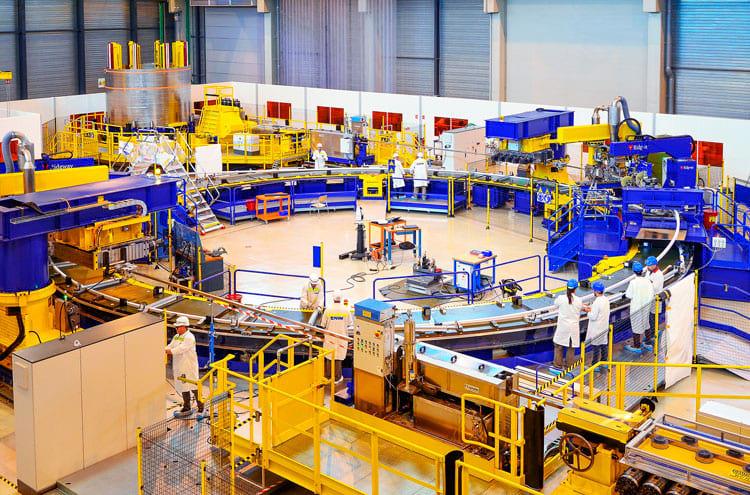 ITER seguirá em construção por décadas ainda