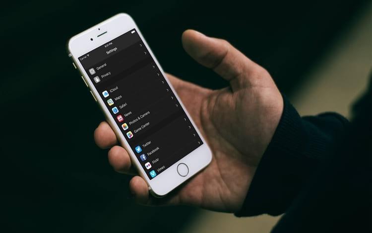 Como ativar o Modo Escuro no iPhone ?