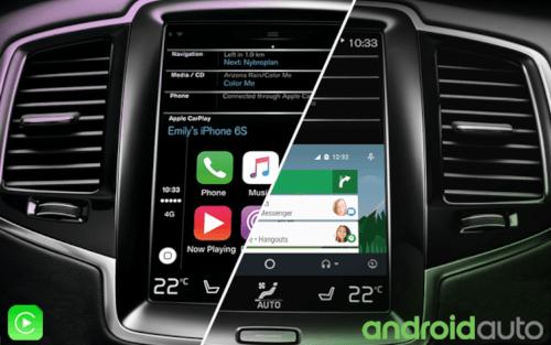 Qual a diferença entre Android Auto e Apple CarPlay?