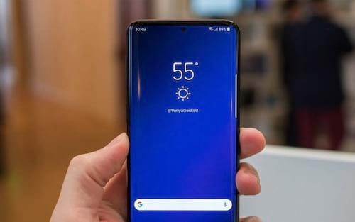 Samsung Galaxy S10 terá display Infinity-O e leitor de impressão digital ultrassônico