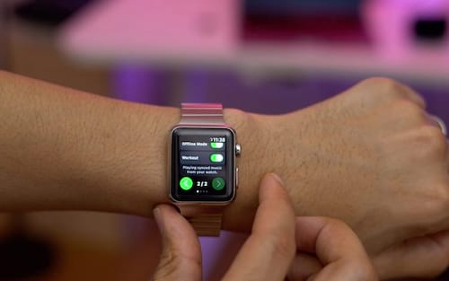 Spotify lança app para Apple Watch