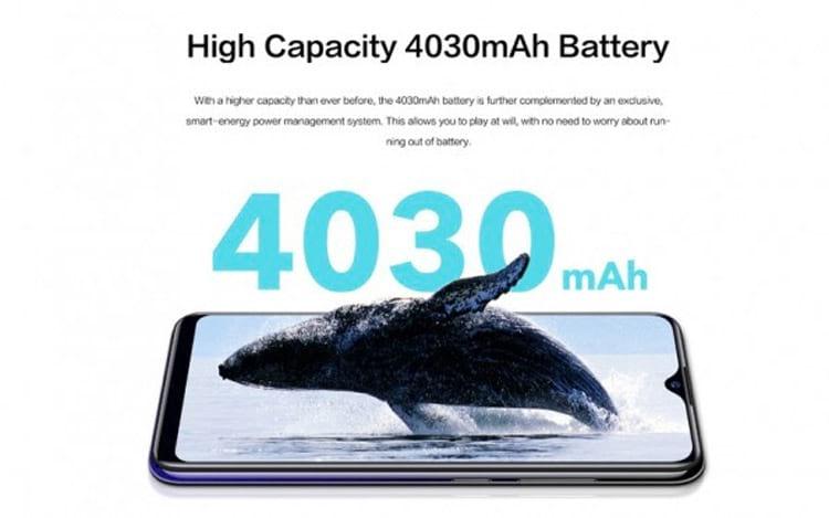 Bateria de 4030 mAh