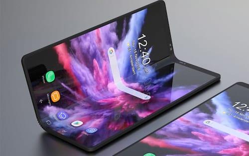 Renderizações em 3D demonstram como será o smartphone dobrável da Samsung