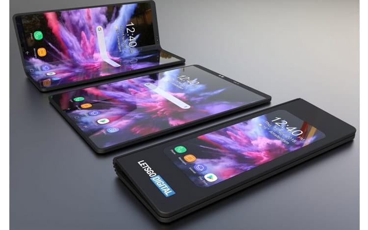 Suposto Galaxy F da Samsung conforme imagem LetsGoDigital