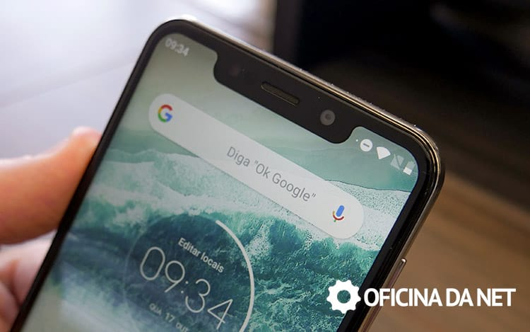 Motorola One e o notch