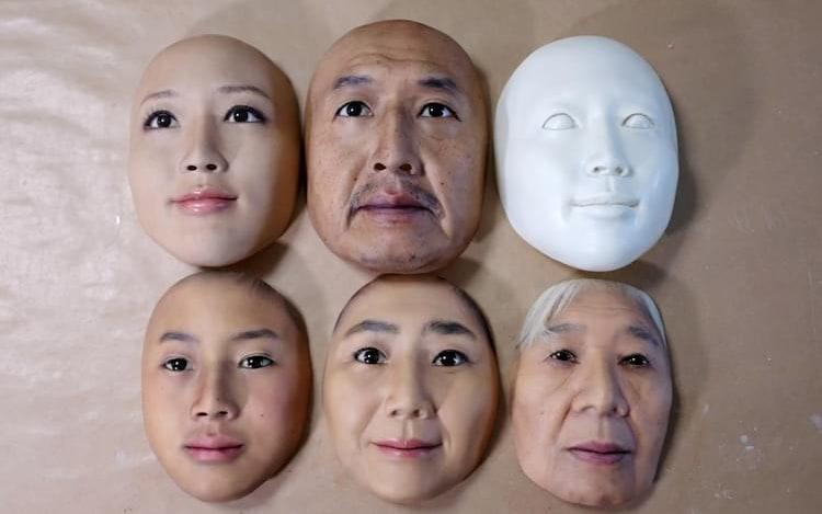 Máscaras hiper-realistas são usadas para treinar tecnologia de reconhecimento facial