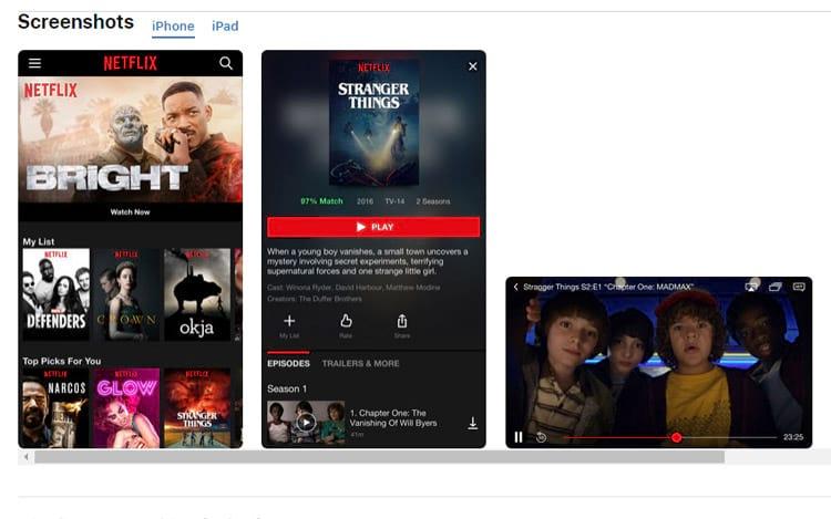 Netflix recebe melhorias no iOS