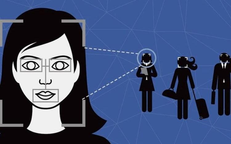 Sistema de reconhecimento facial da China expõe mulher de negócios.