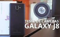 Galaxy J8 - Teste de câmera