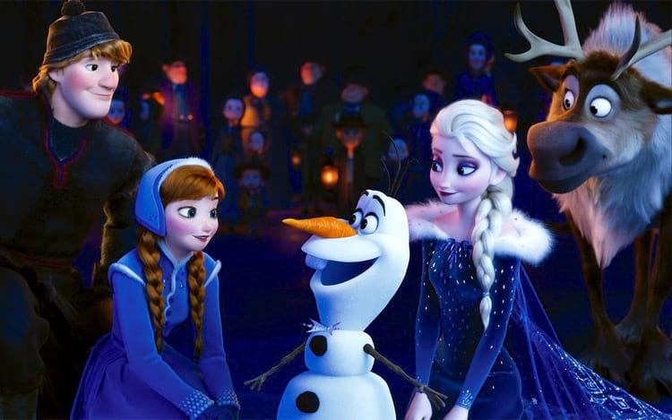 Frozen- A aventura Congelante de Olaf