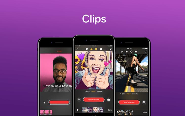 Como usar o app Clips no iPhone para fazer seus stories?