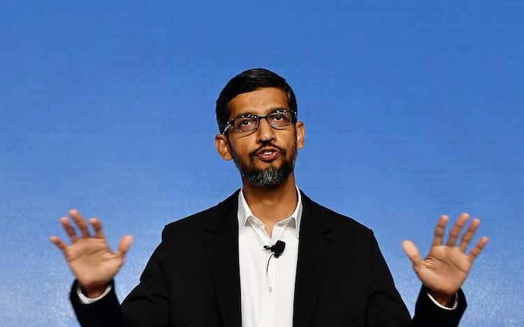 Sundar Pichai, CEO do Google, irá testemunhar perante o Congresso.