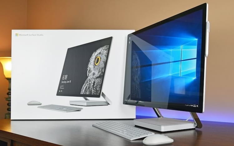 Microsoft deve lançar monitor Surface Studio em 2020.