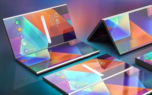 Samsung patenteou um smartphone dobrável com duas telas