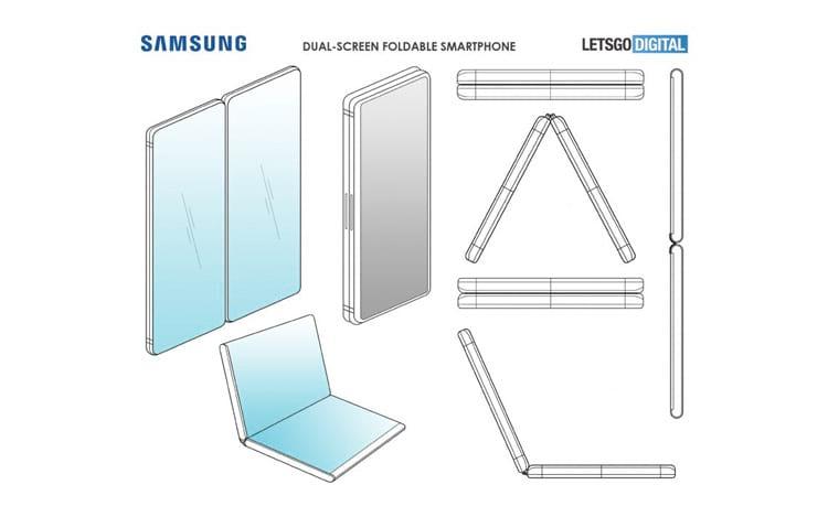 Smartphone com duas telas da Samsung