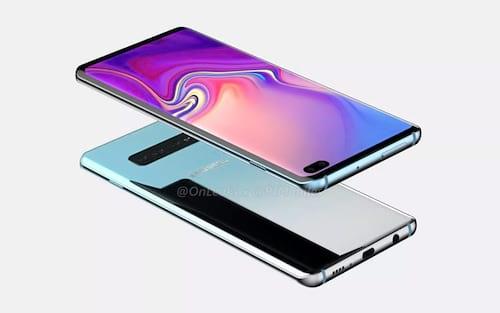 Galaxy S10+ tem possível visual demonstrado em renderizações