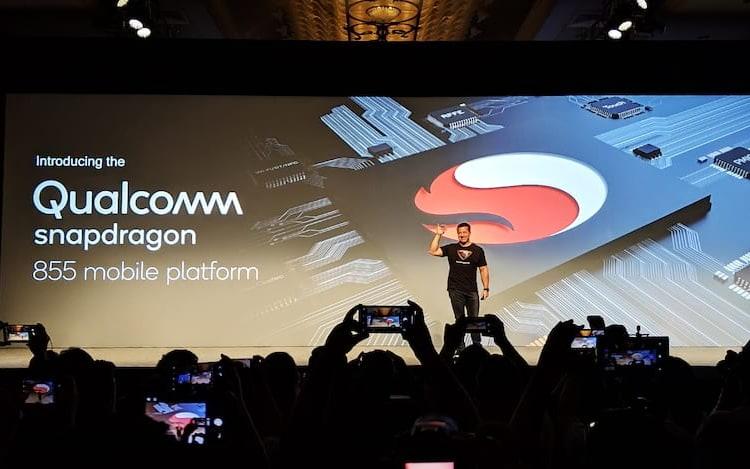 Qualcomm revela processador Snapdragon 855 para aparelhos 5G.