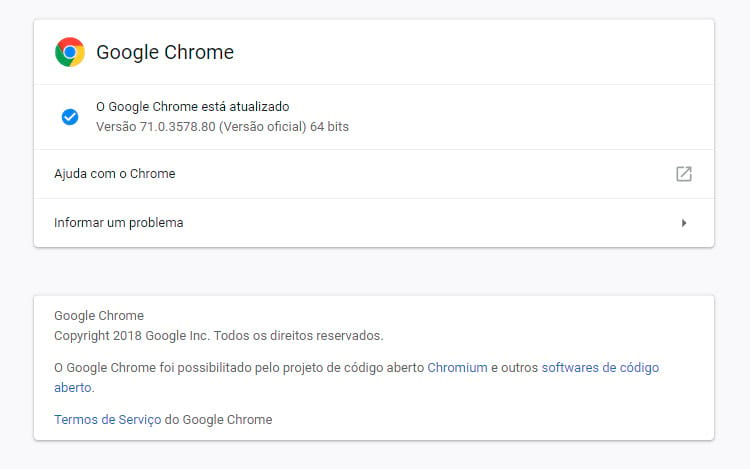 Chrome 71 chega com recurso de bloqueio de anúncios abusivos.
