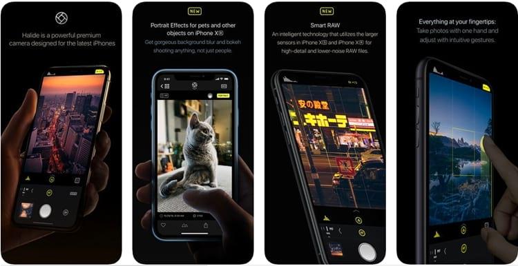 Os 7 melhores aplicativos de câmera para o iPhone